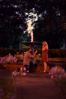 Le Grand Amour- True Love proposals and elopements